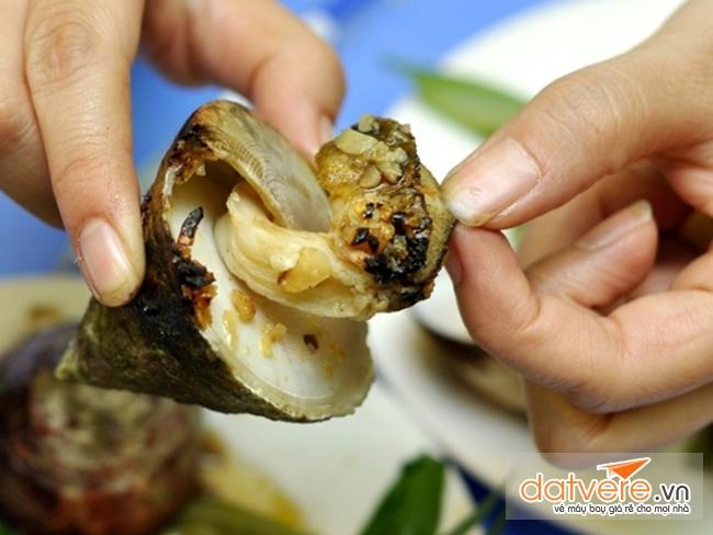Du lịch Côn Đảo thưởng thức món ăn Ốc Vú Nàng ngon tuyệt