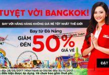 Air Asia khuyến mại khung: giảm 50% giá vé