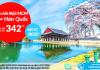 Vé máy bay đi Soeul giá rẻ từ Việt Nam