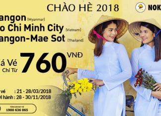 Khuyến mại chào hè, Nok Air mở bán vé từ 35 USD/chiều