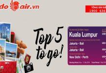 Chương trình khuyến mãi bay châu Á của Malindo Air