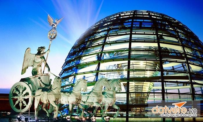 Vẻ đẹp thành phố Berlin - Đức