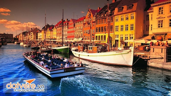 Trải nghiệm du thuyền ở Copenhagen