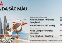 Chương trình khuyến mại hãng Malindo Air