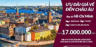 Chương trình khuyến mại hãng Qatar Airways
