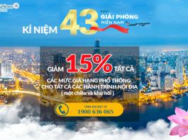 Chương trình khuyến mại hãng Vietnam Airlines