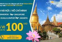 Chương trình khuyến mại Vietnam Airlines