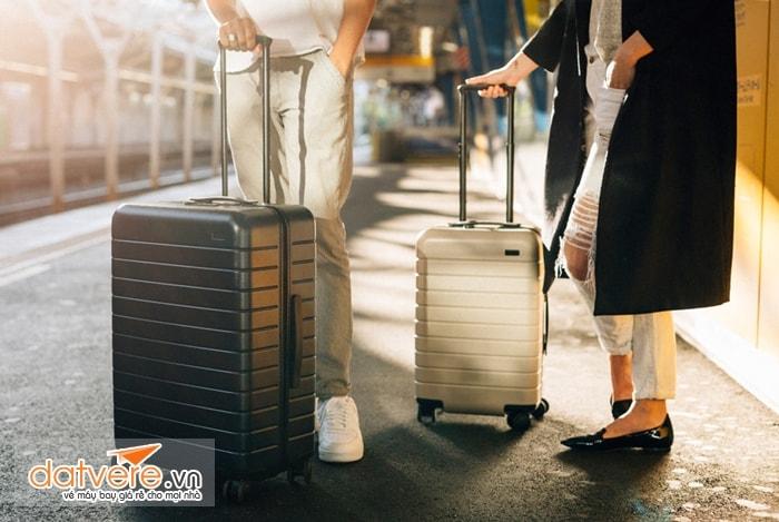 Đảm bảo hành lý không vượt quá tiêu chuẩn về số lượng và kích thước