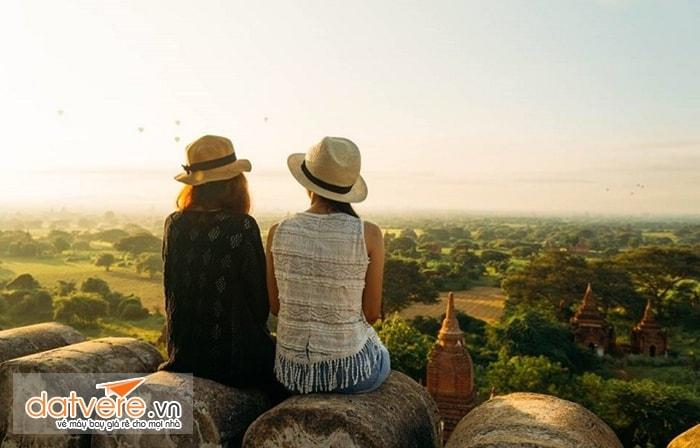 Ngắm cảnh ở Bagan