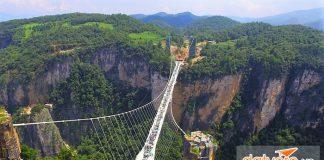 Cây cầu kính dài nhất thế giớ bắc qua 2 đảo