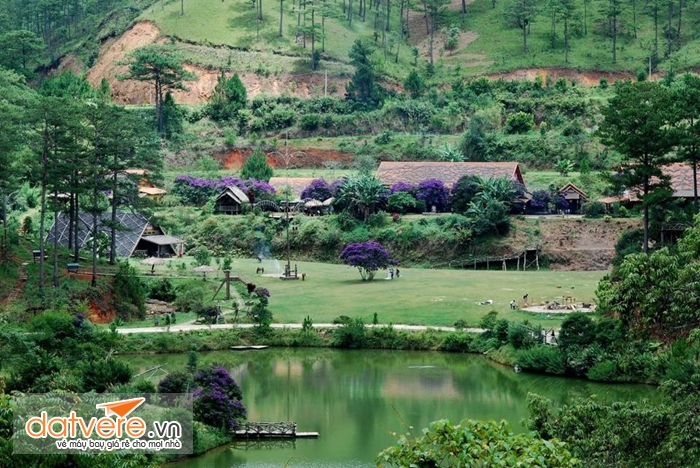 Làng Cù lần nổi tiếng ở Đà lạt