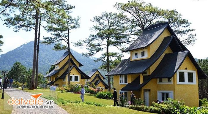 Những ngôi nhà đặc trưng của làng Bình An