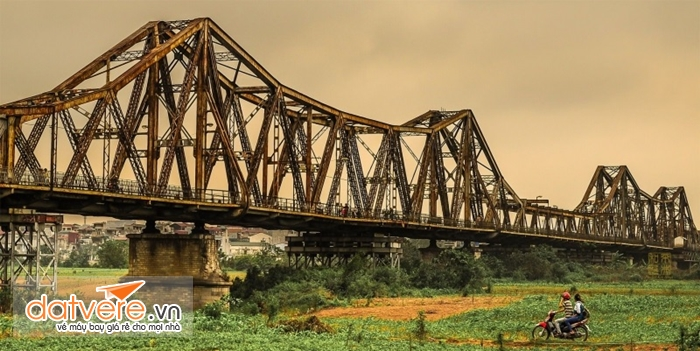 Cây cầu Long biên lịch sử của Thủ đô