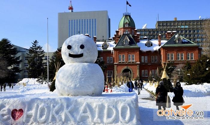 Mùa đông ở Hokkaido
