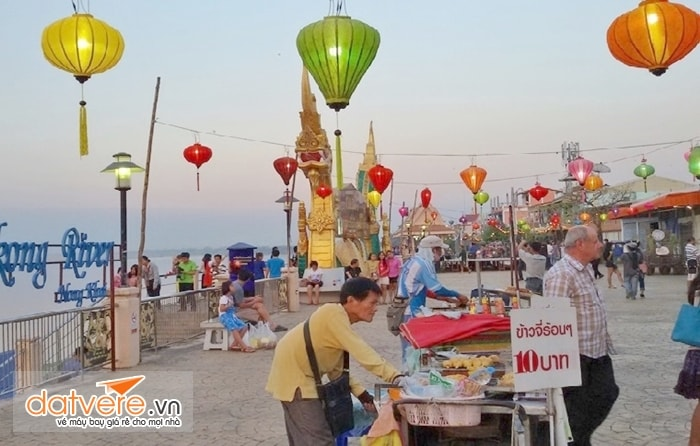 Vẻ đẹp ở thành phố Nong Khai