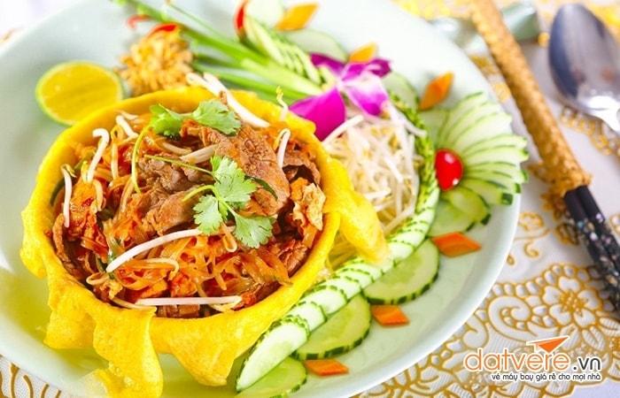 Pad Thái - Món ngon xứ sở chùa vàng