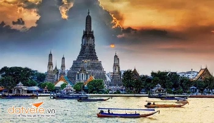 Vẻ đẹp dòng sông Chao Phraya