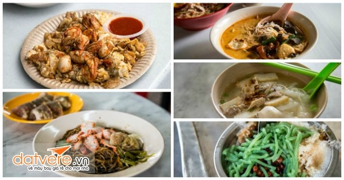 Nếm thử nhiều món ngon Penang