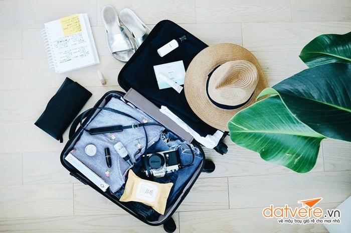 Chuẩn bị hành lý ký gửi