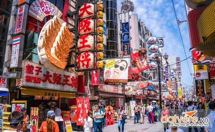 Du lịch quanh thành phố Nhật Bản