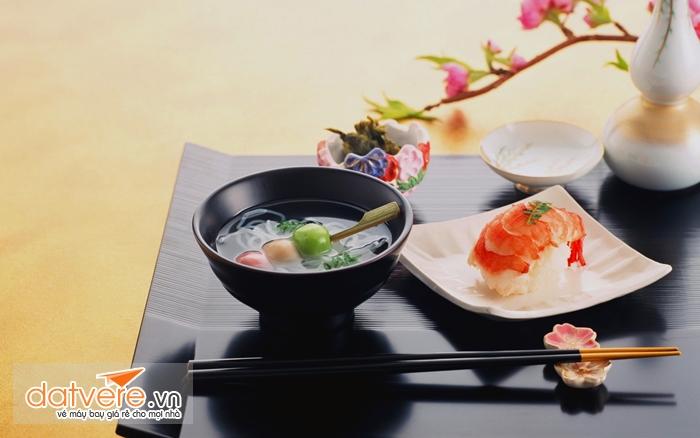 Các món ngon của ẩm thực Nhật Bản