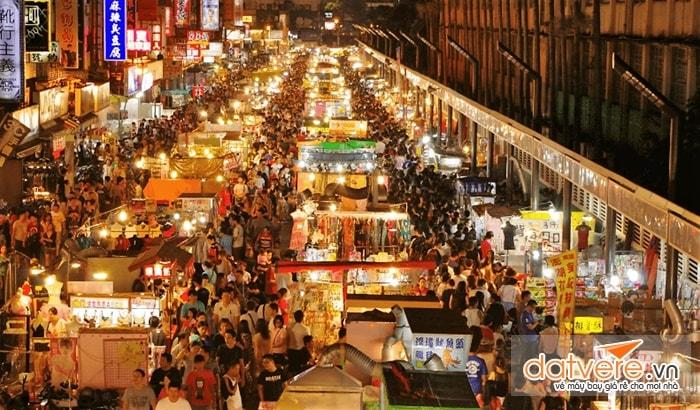 Chợ đêm - nơi sầm uất nhất Đài Loan