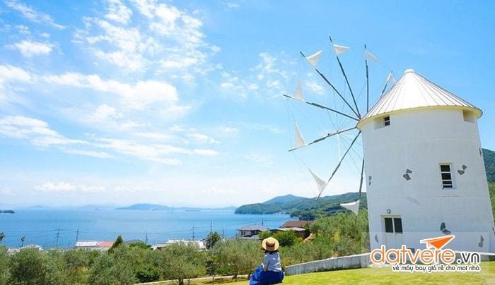 Ngôi nhà cối xay gió trên đảo