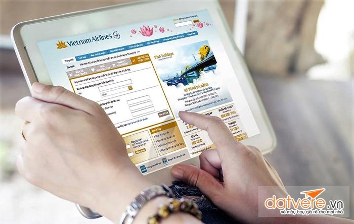 Thủ tục check in online của Viettnam Airlines
