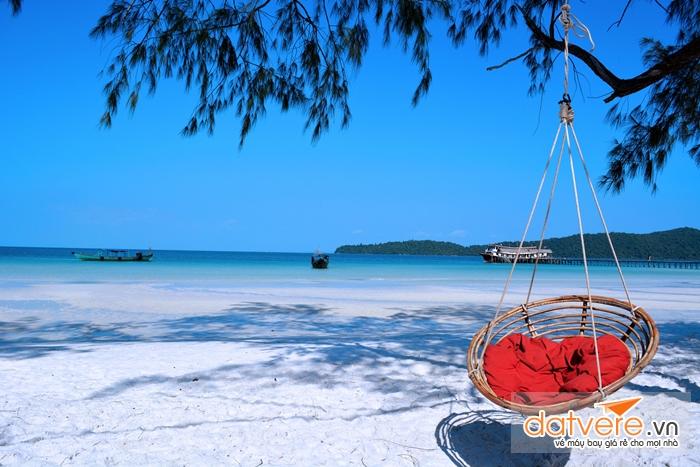 Bãi biển KohRong Samleom
