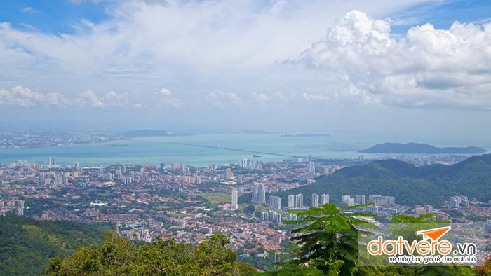 Thành phố Penang nhìn từ trên cao