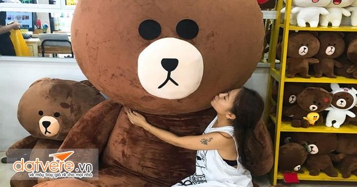 Cửa hàng gấu Brown