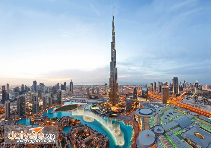 Tòa nhà cao nhất thế giới The Burj Khalifa