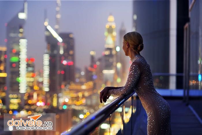 Ngắm Dubai về đêm