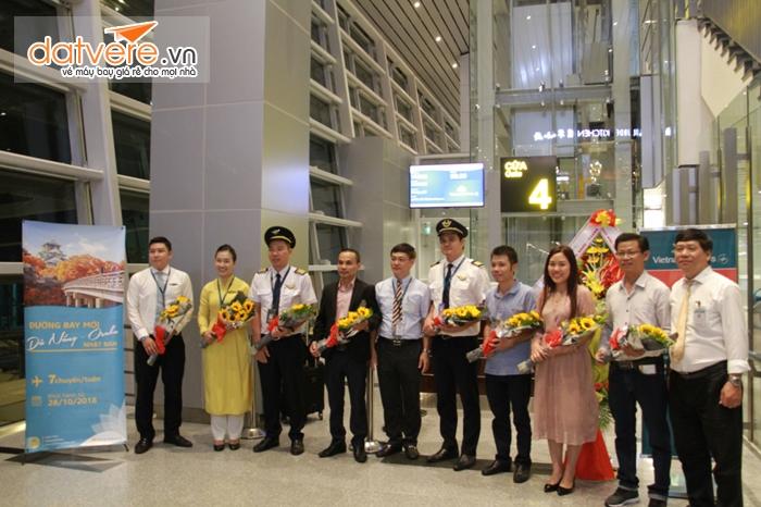Khai thác đường bay mới từ Đà Nẵng-Osaka