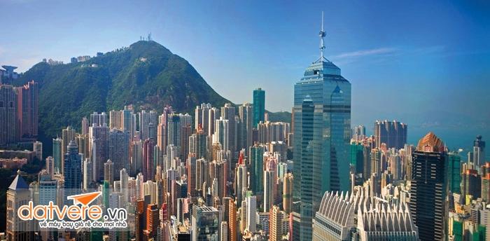 Những tòa nhà chọc trời ở HongKong