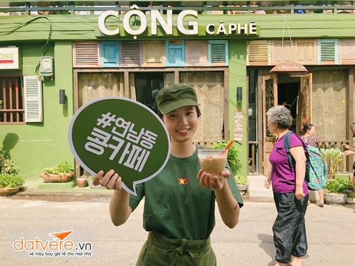 Cộng Cafe đã có mặt tại Hàn Quốc