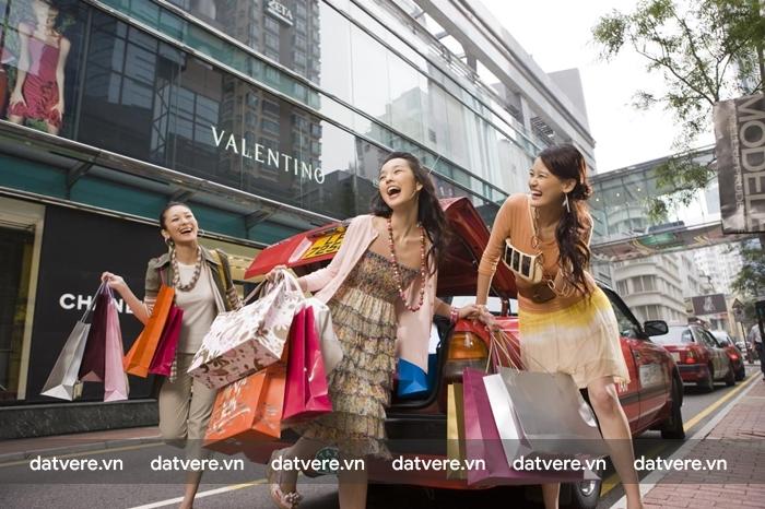 Mua sắm ở Hongkong