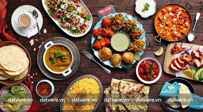 Trải nghiêm ẩm thực Ấn Độ