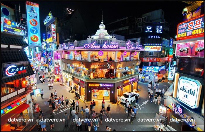 Phố mua sắm Hongdae