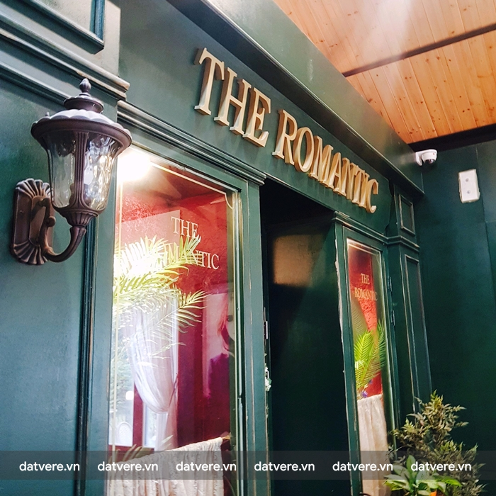 Quán cafe The Romatic
