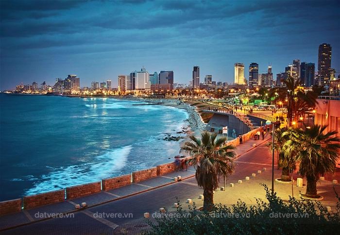 Thành phố lớn thứ hai của Israel Tel Aviv