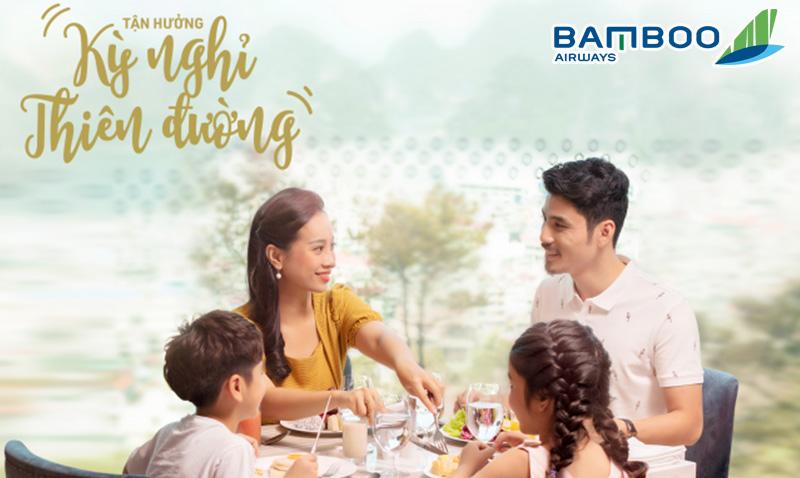 Tận hưởng kỳ nghỉ thiên đường từ combo khuyến mãi Bamboo Airways