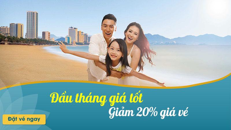 Khuyến mãi giảm 20% giá vé 5 ngày vàng từ Vietnam Airlines