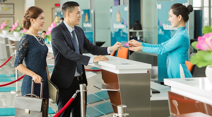 Thủ tục trực tuyến Vietnam Airlines