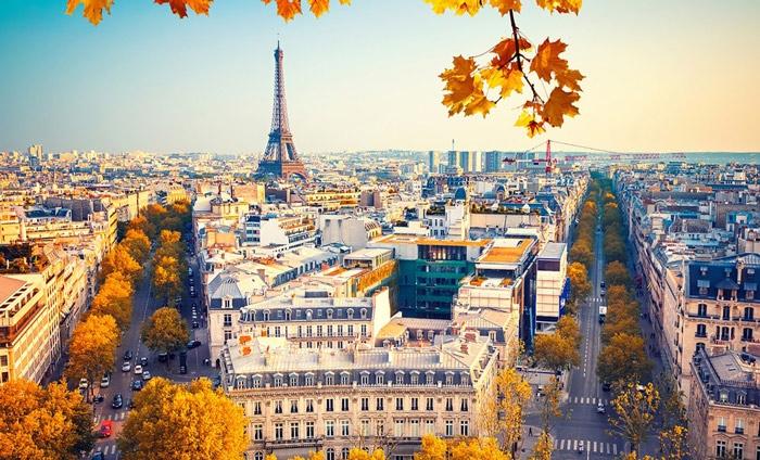 Paris, Pháp - Điểm du lịch phù hợp với cung Thiên Bình (23/9 – 22/10) trong năm 2020
