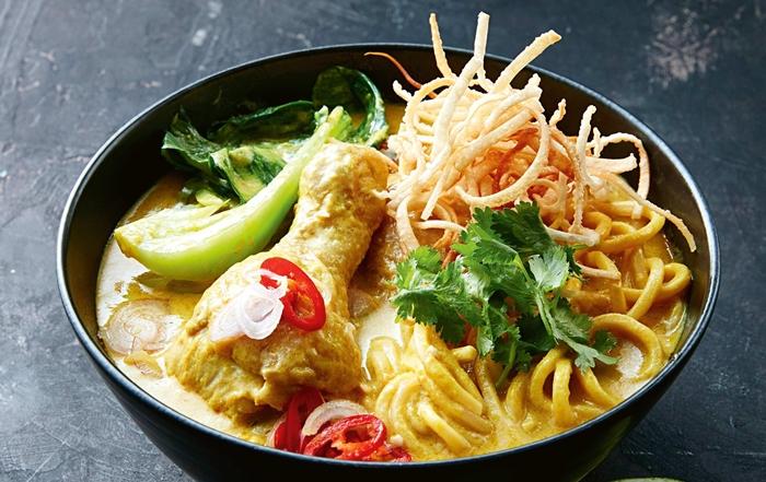 Khao Soi món mì xào giòn được yêu thích tại Chiang Mai