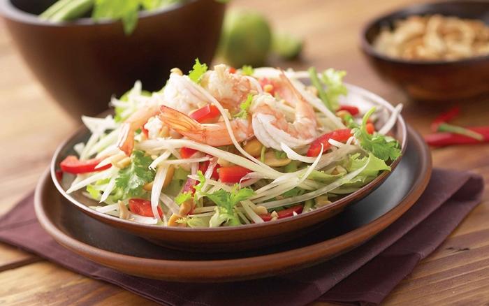 Khausoy món ăn phổ biến ở Viêng Chăn