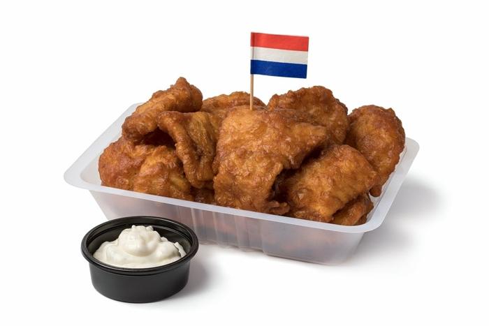 Kibbing Món ăn này được làm từ cá rất được ưu chuộng tại Hà Lan.