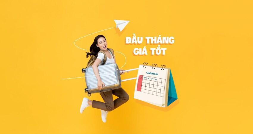 Khuyến mãi lớn đầu tháng giá tốt từ Vietnam Airlines